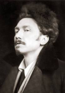 Ezra Pound by EO Hoppe 1920